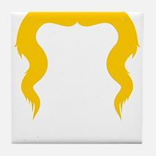 Mustache-016-B Tile Coaster