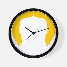 Mustache-039-B Wall Clock