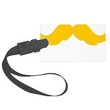 Mustache-028-B Luggage Tag