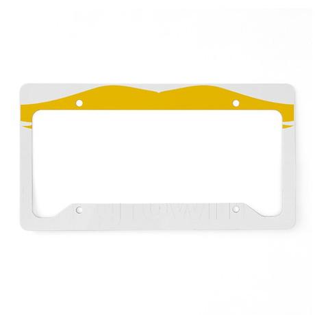 Mustache-026-B License Plate Holder