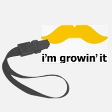 Mustache-036-A Luggage Tag