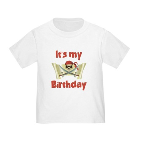 Pirate Birthday Toddler T-Shirt