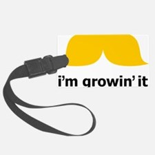 Mustache-043-A Luggage Tag
