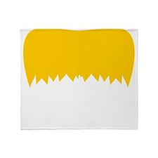 Mustache-056-B Throw Blanket
