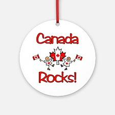 Canada Rocks! Ornament (Round)