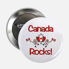 Canada Rocks! Button