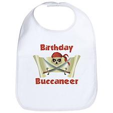 Pirate Birthday Bib