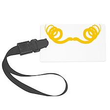 Mustache-072-B Luggage Tag