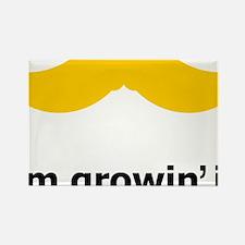 Mustache-049-A Rectangle Magnet