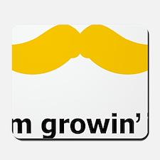 Mustache-049-A Mousepad