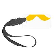 Mustache-048-B Luggage Tag