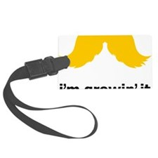 Mustache-051-A Luggage Tag