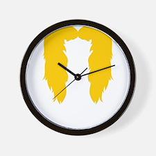 Mustache-057-B Wall Clock