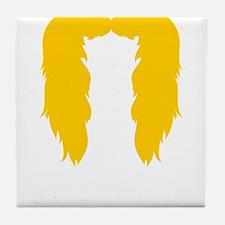 Mustache-057-B Tile Coaster