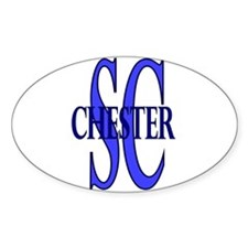 Chester South Carolina Oval Decal