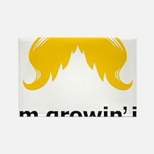 Mustache-100-A Rectangle Magnet