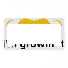 Mustache-078-A License Plate Holder