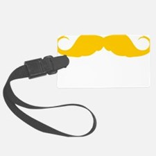 Mustache-078-B Luggage Tag