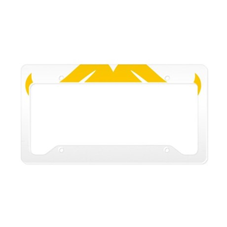Mustache-094-B License Plate Holder