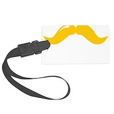 Mustache-081-B Luggage Tag