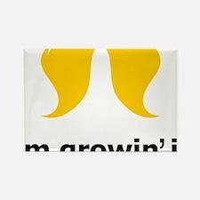 Mustache-083-A Rectangle Magnet