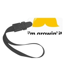 Mustache-089-A Luggage Tag