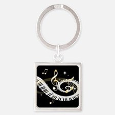 musical notes 45 Keychains