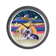 XAngel-HLCrested9 Wall Clock