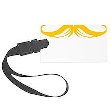 Mustache-093-B Luggage Tag