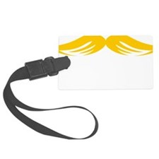 Mustache-098-B Luggage Tag