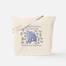 Learned Toller Tote Bag