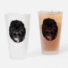 prissy shih tzu Drinking Glass