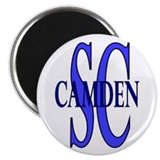 "Camden South Carolina 2.25"" Magnet (10 pack)"