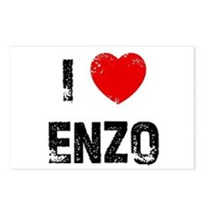 I * Enzo Postcards (Package of 8)