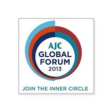 "GloFo2013 Square Sticker 3"" x 3"""