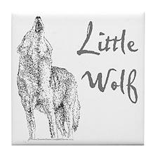 Little Wolf Tile Coaster