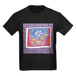 Spring Flowers Kids Dark T-Shirt