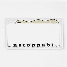 Unstoppable License Plate Holder