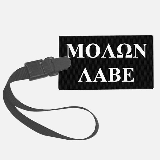Come and Take It (Molon Labe Hon Luggage Tag