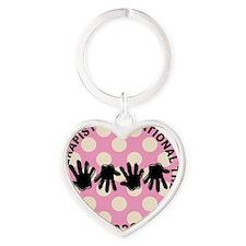 ot JEWELRY 2 Heart Keychain