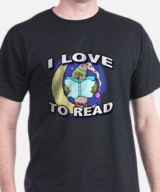 Night Owl Reader T-Shirt