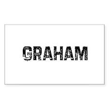 Graham Rectangle Decal