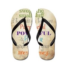 Work Word of the Day Sweat the Small St Flip Flops