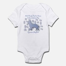 Learned Pyrenean Infant Bodysuit