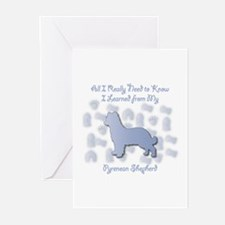 Learned Pyrenean Greeting Cards (Pk of 10)