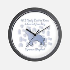 Learned Pyrenean Wall Clock