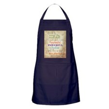 Work Word of the Day Sweat the Small  Apron (dark)
