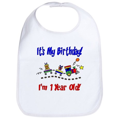 Train 1st Birthday Bib