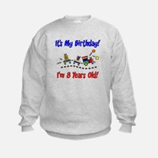 Train 8th Birthday Sweatshirt