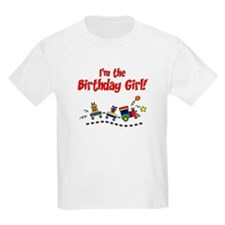 Train Birthday Girl T-Shirt